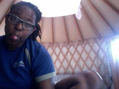 Yurt living!